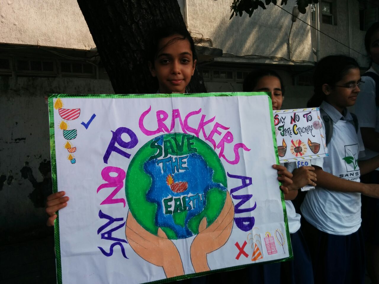 Rally and On-line competitions: Towards a Cracker Free Diwali