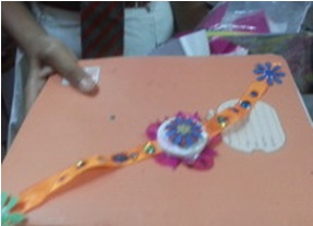 Eco friendly Rakhi