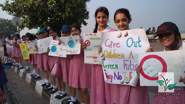 Eco-friendly Diwali Workshops and Rally